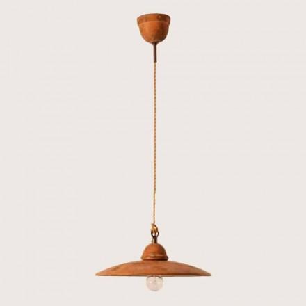 Toscot Settimello handmade terracotta pendant lamp