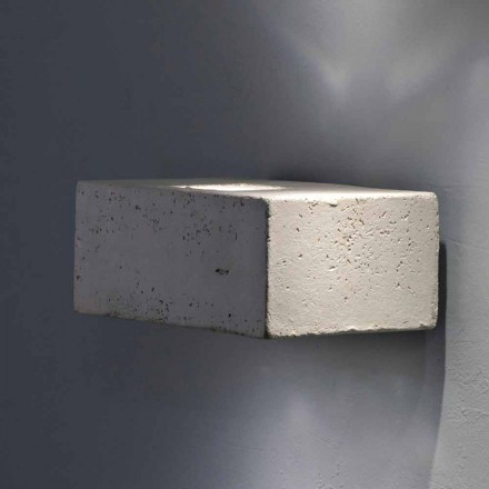 Toscot Smith outdoor LED wall sconce, modern design made in Tuscany