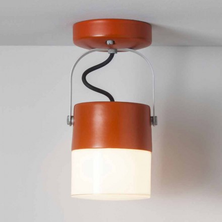 Toscot Swing wall ceiling lamp made in Tuscany