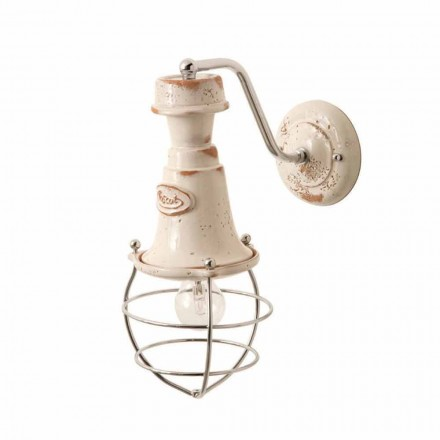 Toscot Torino terracotta wall sconce