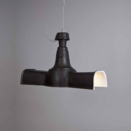 Toscot Torino Helix pendant light made in Tuscany