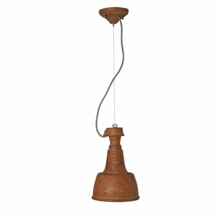 Toscot Torino Small terracotta pendant light made in Tuscany