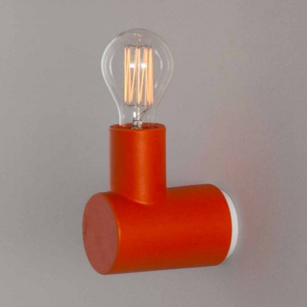 Toscot Traffic ceramic wall lamp made in Tuscany
