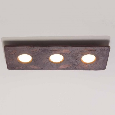 Toscot Vivaldi designer terracotta wall light made in Italy