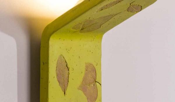Toscot vivaldi terracotta applique handmade in italy