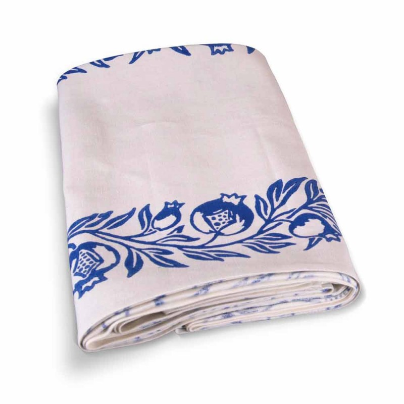Tablecloth of Art with Hand Printed Design of High Italian Craftsmanship - Trademarks