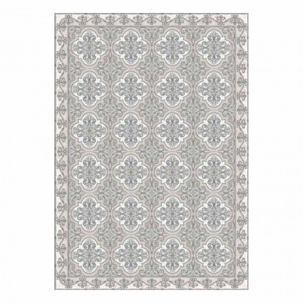 Modern American Placemat in Pvc and Polyester Patterned, 6 Pieces - Costa