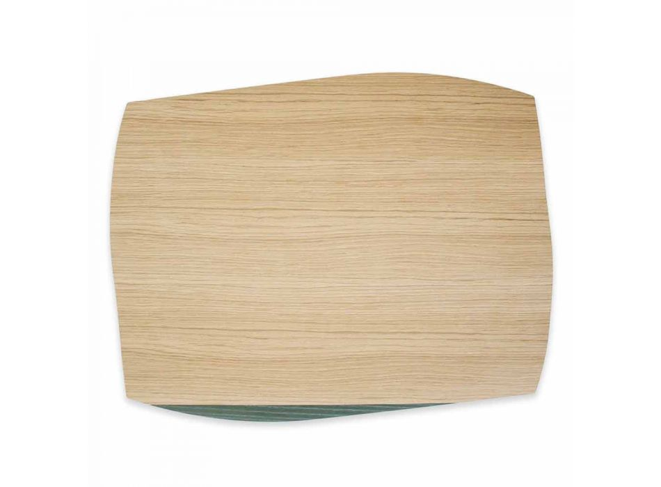 Modern Rectangular Placemat in Oak Wood Made in Italy - Abraham