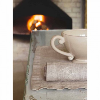American Placemats and Linen Breakfast Napkins 2 Pieces - Maccanone