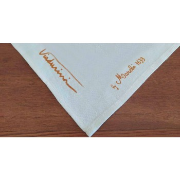 Single Piece Hand Printed Napkin Made in Italy - Viadurini by Marchi