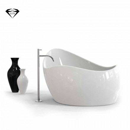 Modern design Solid Surface bathtub Finger Food, made in Italy
