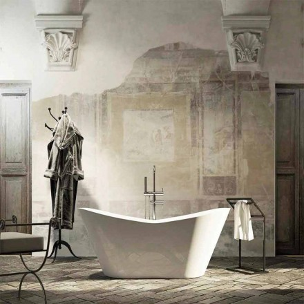 Modern design freestanding bathtub produced 100 % in Italy Ragusa