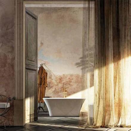 Gallipoli freestanding bathtub, L159xP70xH64, produced in Italy