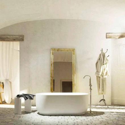 Modern design freestanding bathtub produced 100 % in Italy Zollino