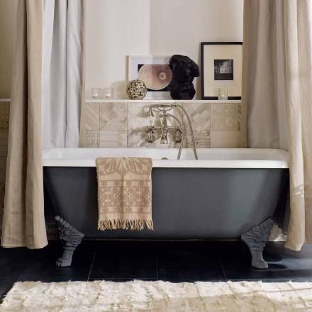 Vintage Freestanding Bathtub with Feet, in Cast Iron - Nausica