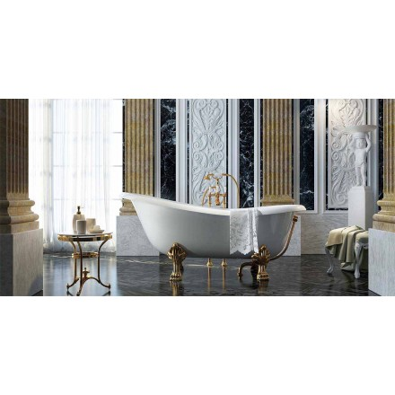 Freestanding classic design bathtub made 100 % in Italy, Fregona