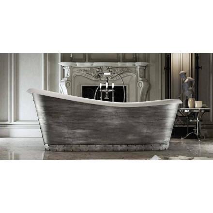 Modern design freestanding resin bathtub made in Italy, Furtei