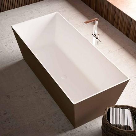 Free Standing Bathtub, External Bicolor Shiny or Matt – Filo
