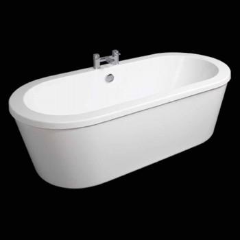 Modern white freestanding bathtub April 1800x830 mm