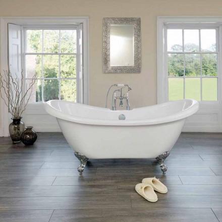 Modern design white acrylic freestanding bathtub Spring 1750x720mm