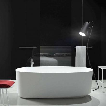 Freestanding monobloc design bathtub produced in Italy, Dongo
