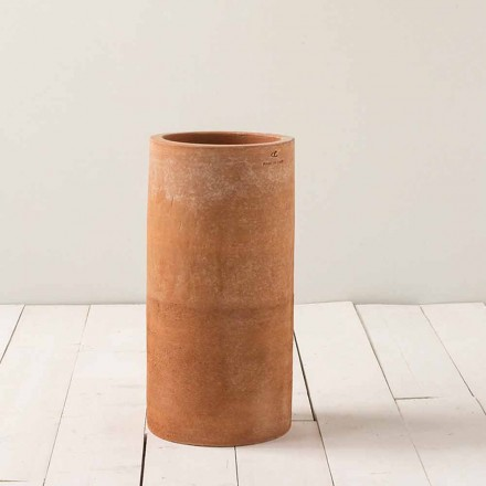 Modern outdoor vase in clay H 50cm Tirrenia – Toscot