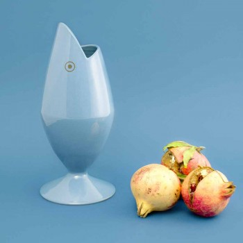 Ceramic Flower Vase Handcrafted in Italy - Tuna