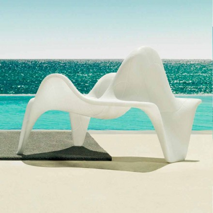 Vondom F3 outdoor armchair in polyethylene, contemporary design