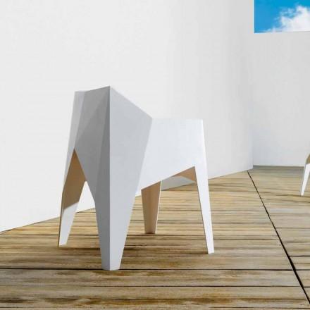 Vondom Voxel modern outdoor armchair, coloured polyethylene