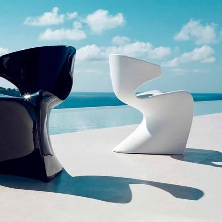 Vondom Wing modern outdoor armchair made of polyethylene, 50x56xH74 cm
