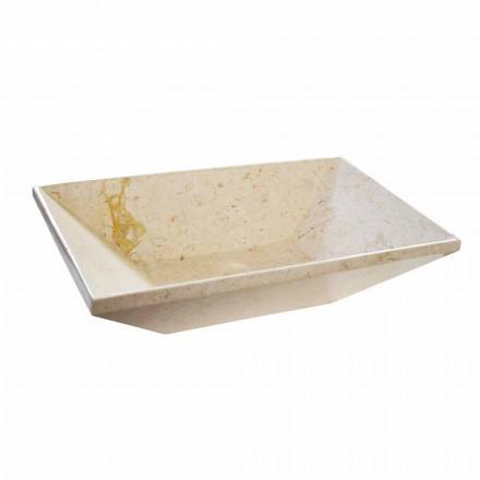 Marble countertop basin Wok, modern design