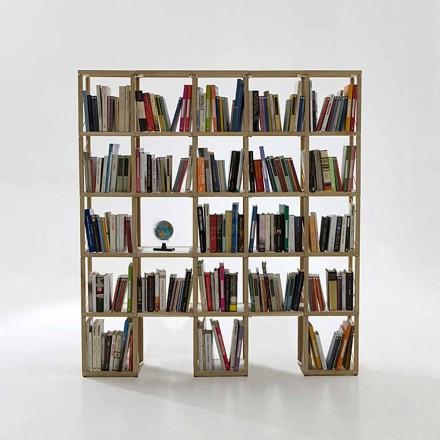 Modular designer bookcase Zia Babele I Castelli 6