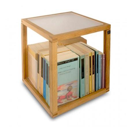 Modern modular bookcase Zia Babele Le Trottole Portalibri