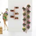Wall mounted plants holder Zia Flora