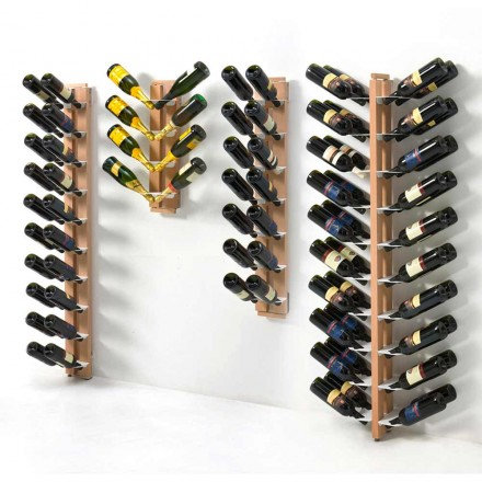 One-sided wall mounted Zia Gaia bottles holder